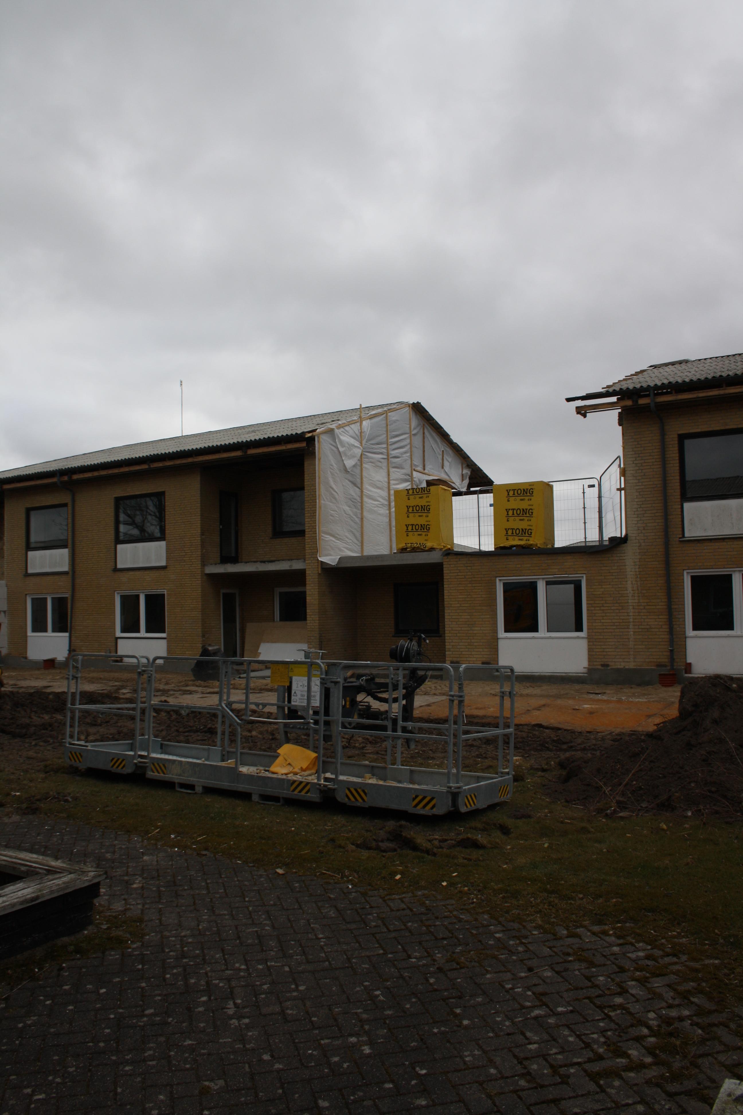 Renovering af Skallerupparken, Aalborg Ø