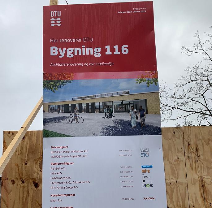 DTU bygning 116 i Kongens Lyngby