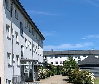 Totalnedrivning af Magrethegården i Hirtshals