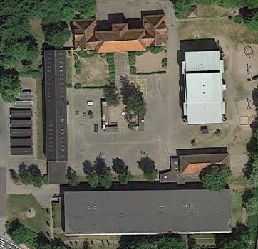 Totalnedrivning af Hærvejsskolen i Rødekro